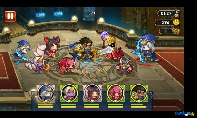 League of Summoner game thẻ bài online hay nhất trên android