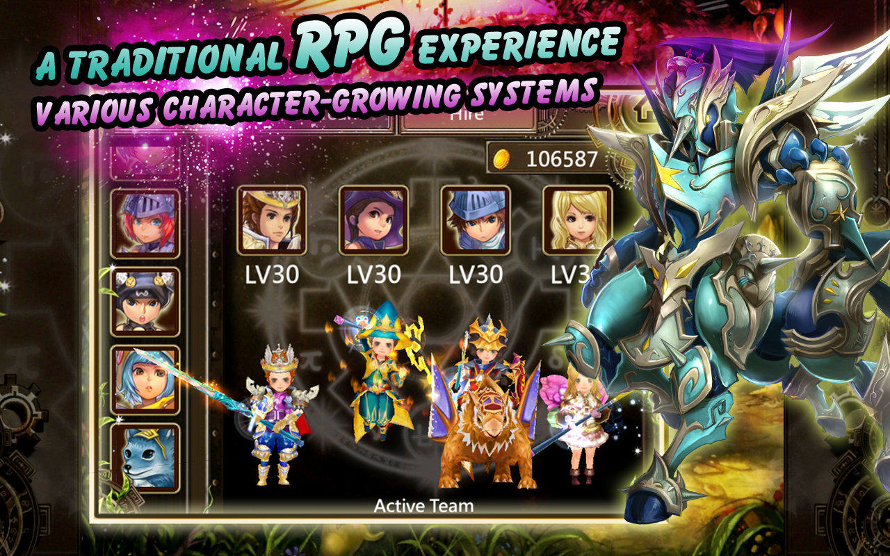Legend of Roland: Action RPG game mobile chiến thuật 3D hay nhất trên android