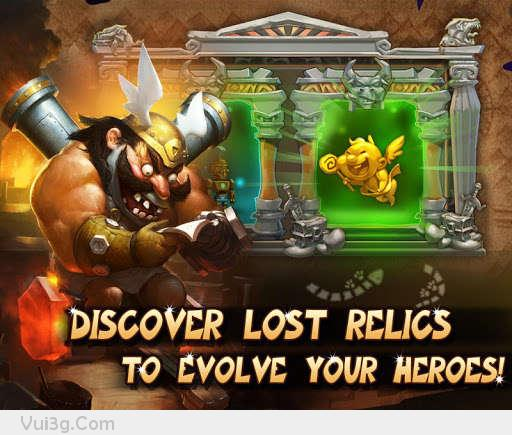 Game Gods Rush Hack chiến thuật cực hay offline cho android1