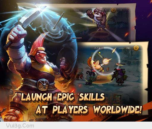 Game Gods Rush Hack chiến thuật cực hay offline cho android