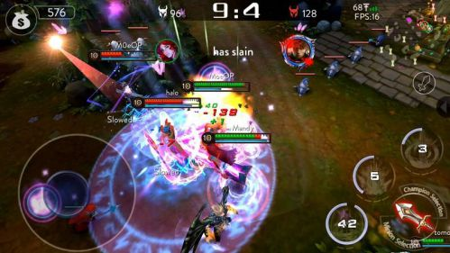 top-game-moba-cho-android-sanh-ngang-voi-vainglory 2